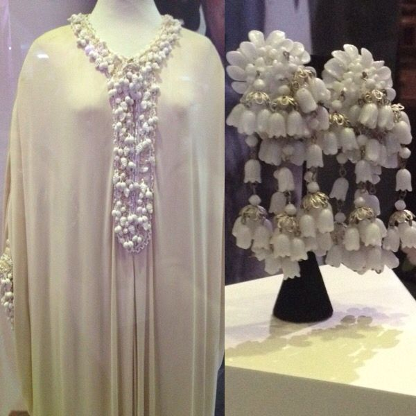 Elizabeth Taylor- Iconic dress and earrings at Newbridge Silver , Kildare, Ireland