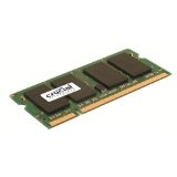Crucial 2GB Single DDR2 667MHz (PC2-5300) CL5 SODIMM 200-Pin Notebook Memory Module CT25664AC667 (Personal Computers)By Crucial