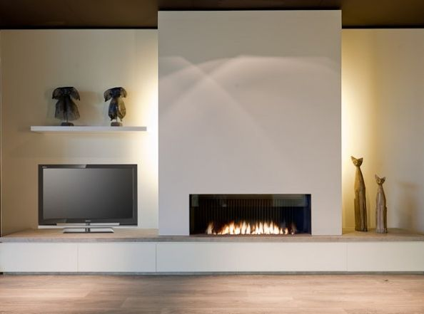 Modern fireplace mantels and Fire places