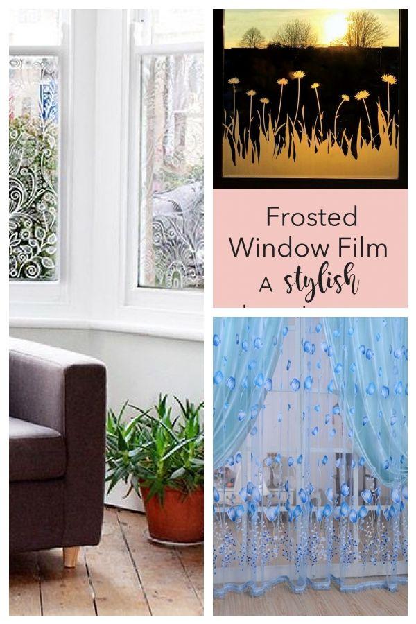 Eine Interessante Alternative Zu Gardinen Ideales Zuhause Alternativegardinen Alternative Curtains Eine Gardinen Ideales Frosted Window Film Cool Curtains Window Film