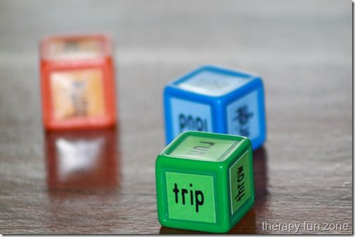 Roll a Sentence Game -  Pinned by @PediaStaff – Please Visit http://ht.ly/63sNt for all our pediatric therapy pins