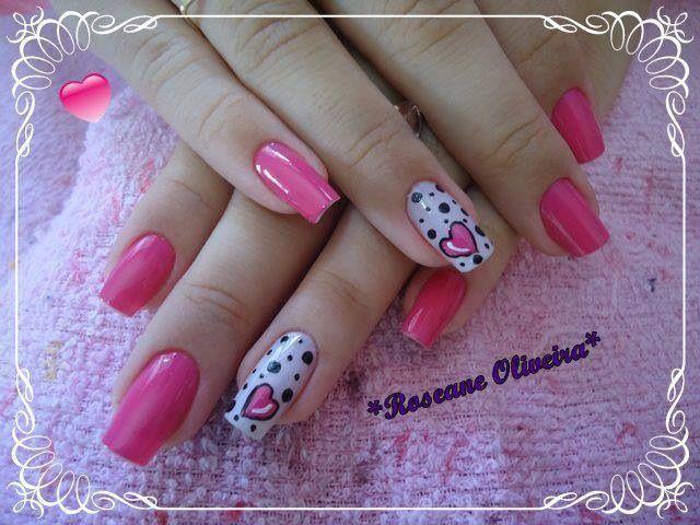 Diseño de uñas decoradas ya se pintadas o de acrilico