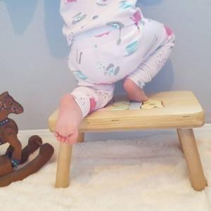 CubbyHoleToys Personalized Puzzle Name Stool