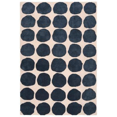 Dots teppe, light khaki/blue melange – Chhatwal & Jonsson – Kjøp møbler online på Room21.no