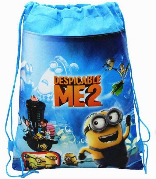 Minions Party favor bag for boy's birthday party