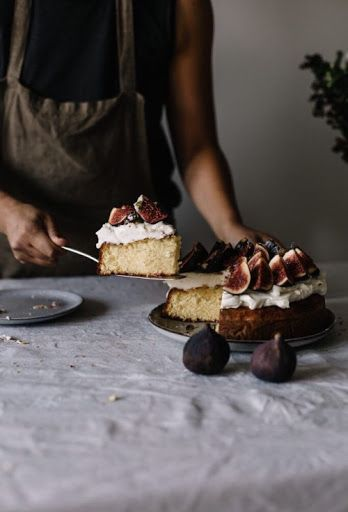 grayskymorning: Olive Oil Cake w/ Figs + Oranges | Sonia...