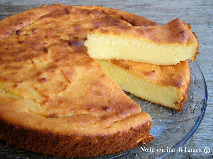 migliaccio napoletano o torta di semolino - nella cucina di laura