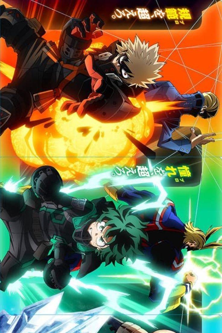 Myheroacademia The Movie World Heroes Mission In 2021 Anime Hero World Anime Films