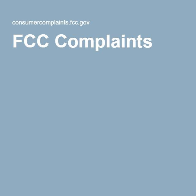 Les 25 meilleures idées de la catégorie Fcc complaint sur - complaint form