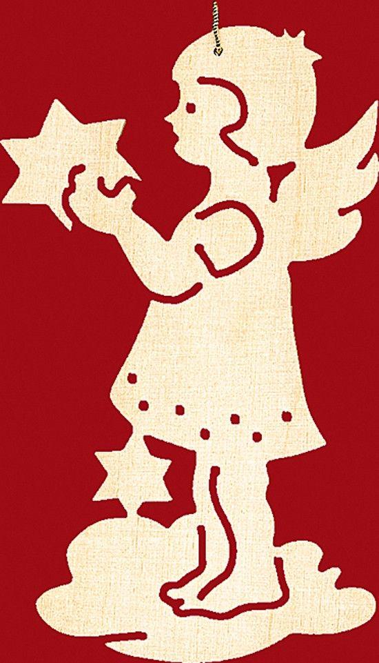 Taulin Baumbehang Weihnachten 4 er Set: Engel