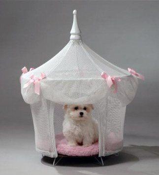 Amazon.com: Pet Tent Small Dog Bed - Sugarplum Princess: Pet Supplies