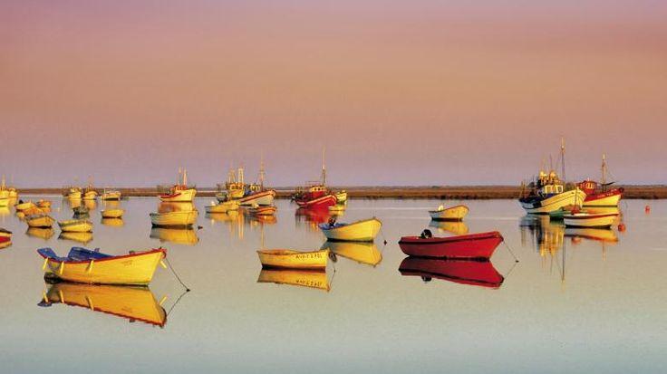 Der Parque Natural da Ria Formosa an der Algarve im Süden Portugals ist ein Naturschutzgebiet.