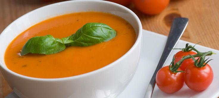 Sopa rápida de tomate | O que há para comer ?