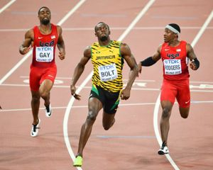 Does symmetry matter for speed? Study finds Usain Bolt may have asymmetrical running gait - Phys.Org