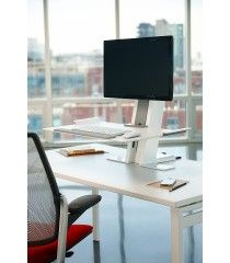 Humanscale Adjustable Desk Converter - Quickstand