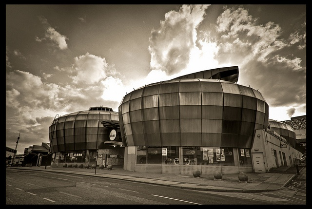 Sheffield Hallam University students union - formerly the ill-fated National Centre for Popular Music