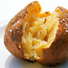 Jacket potatoes