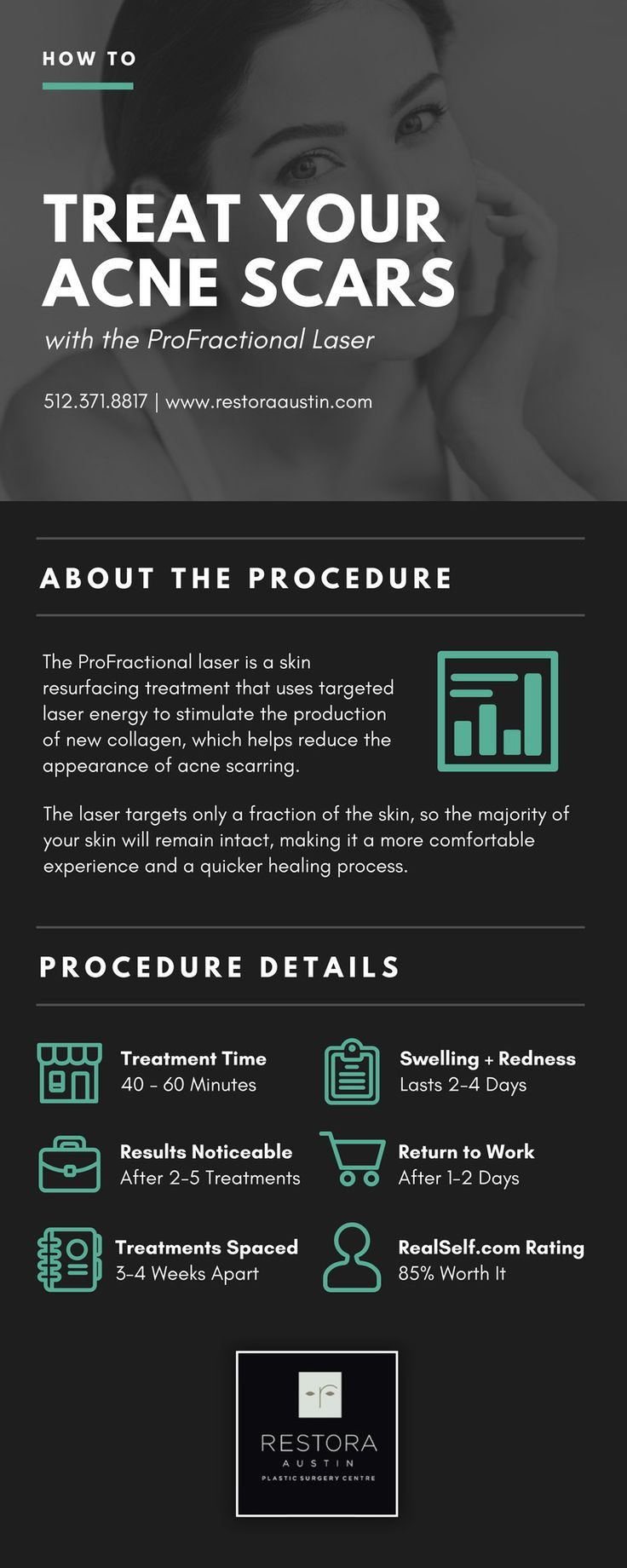 Treat Acne Scars with the ProFractional Laser