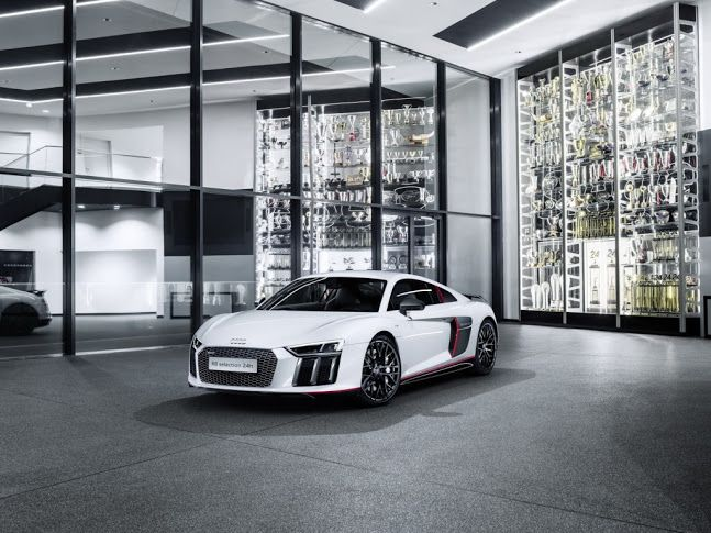 Stunning Audi R8 Coupe V10 Plus 24h Edition