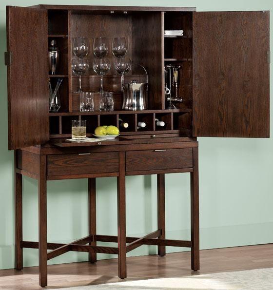 Living Room Bars Furniture: Martha Stewart Living™ Lombard Bar And Server Set
