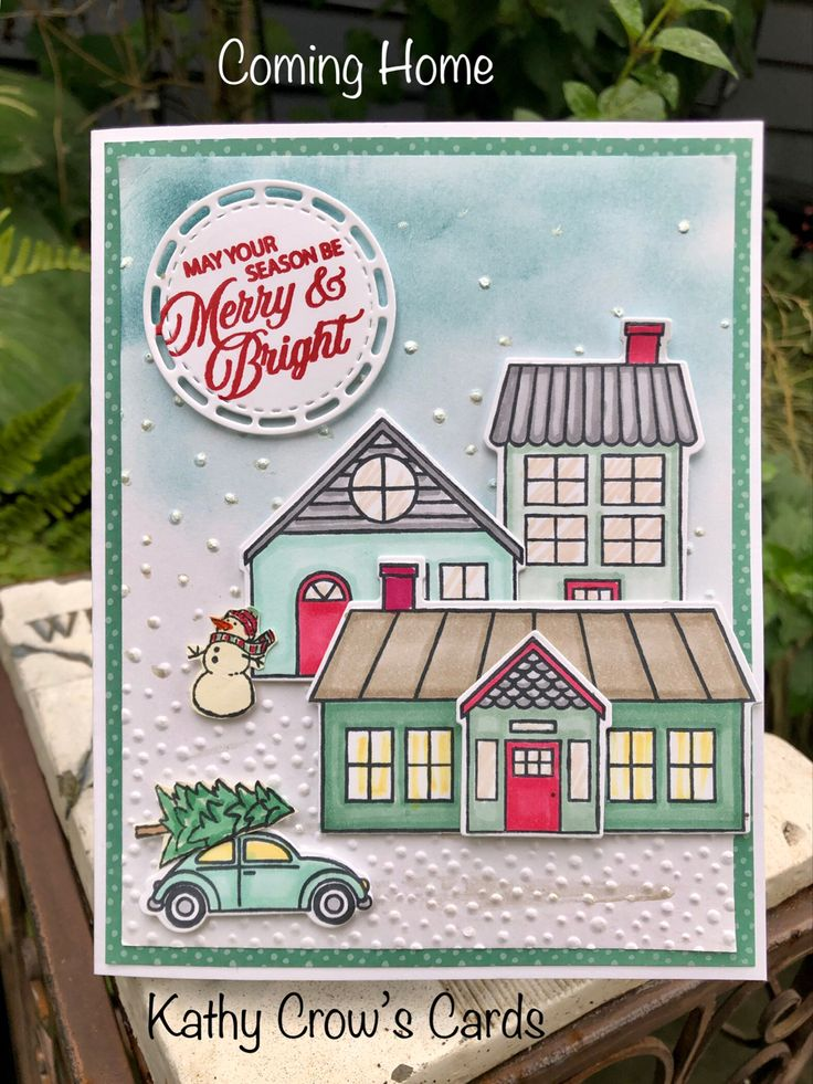 Coming Home in 2020 Stampin up christmas cards, Homemade