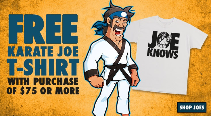 Welcome to KarateJoes - Karate Equipment | Karate Supply | Uniforms | Belts | Sparring Gear | Karate Supplies | Karate Shop