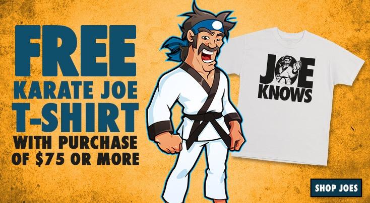 Welcome to KarateJoes - Karate Equipment   Karate Supply   Uniforms   Belts   Sparring Gear   Karate Supplies   Karate Shop