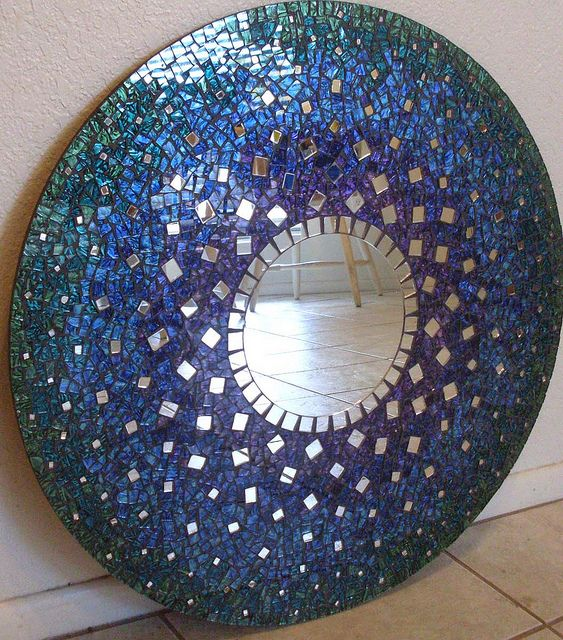 Cool color #mirror #mosaic #home