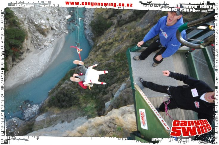 """""""The Chair"""" Shotover Canyon Swing"""