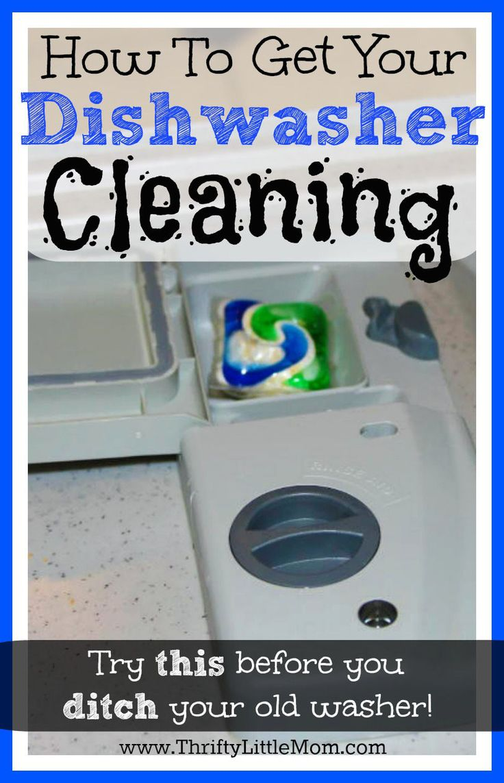 How to get your dishwasher cleaning