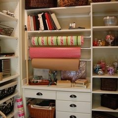 would love a gift wrap closet