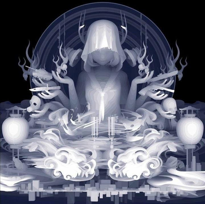 KAZUKI TAKAMATSU http://www.widewalls.ch/artist/kazuki-takamatsu/ #illustration #painting #surrealism