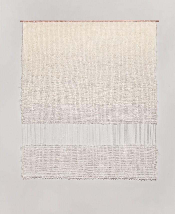 Two Floating Rectangles weaving by Brook & Lyn