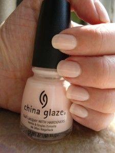 China Glaze  Trousseau. good nude-ish color