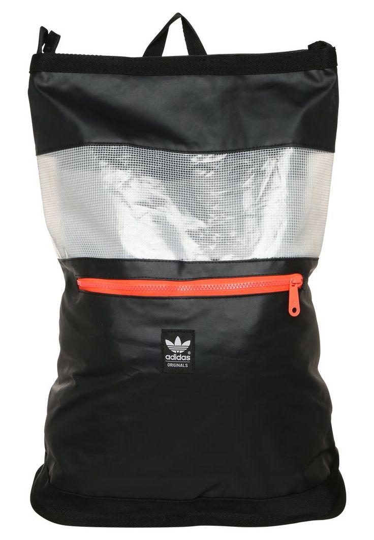 adidas Originals FUTURA DAY czarny Plecak black/white/solred