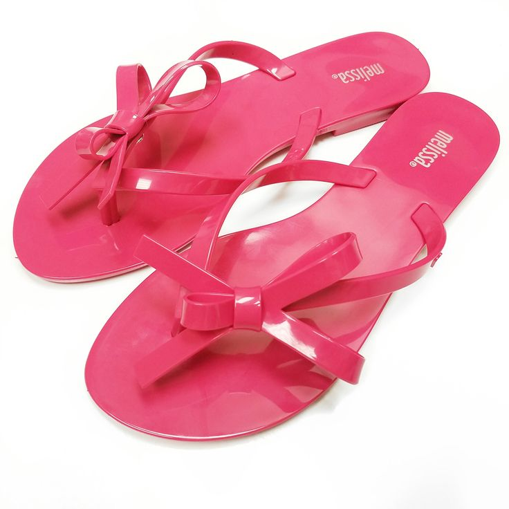 Shoes are like ice cream, there's always room for more! ~ Melissa Flip Flops