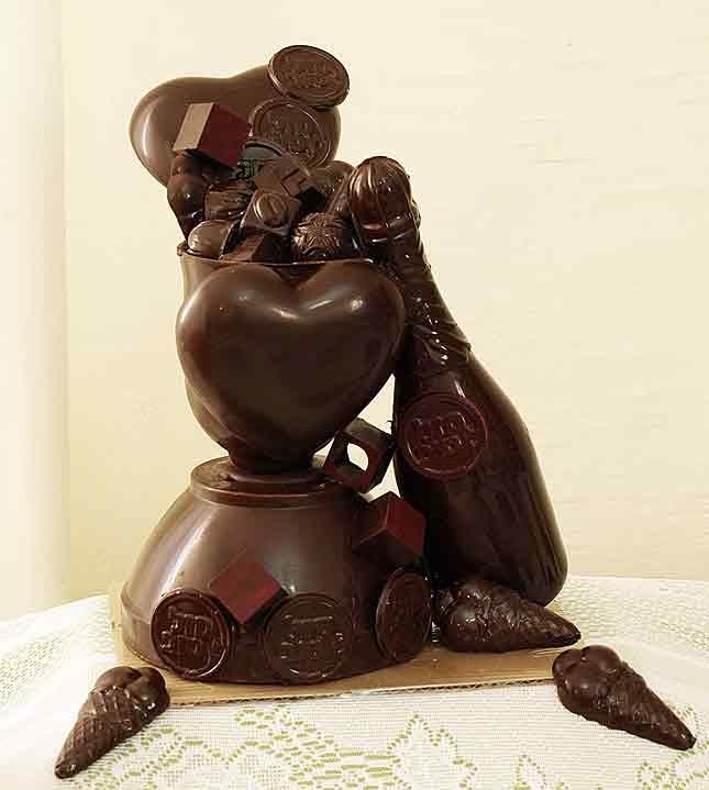 Mendel Soussan - Chocolatier - Chocolate art in looks and in taste!!