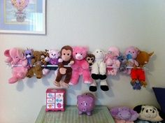 Stuffie display