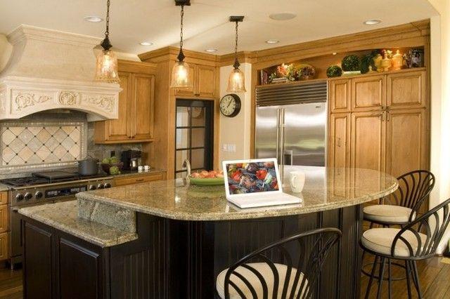 25 Best Ideas About Round Kitchen Island On Pinterest Curved Kitchen Island Kitchen Islands