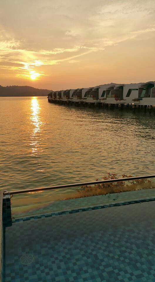 Sunset @ Lexis Port Dickson Malaysia