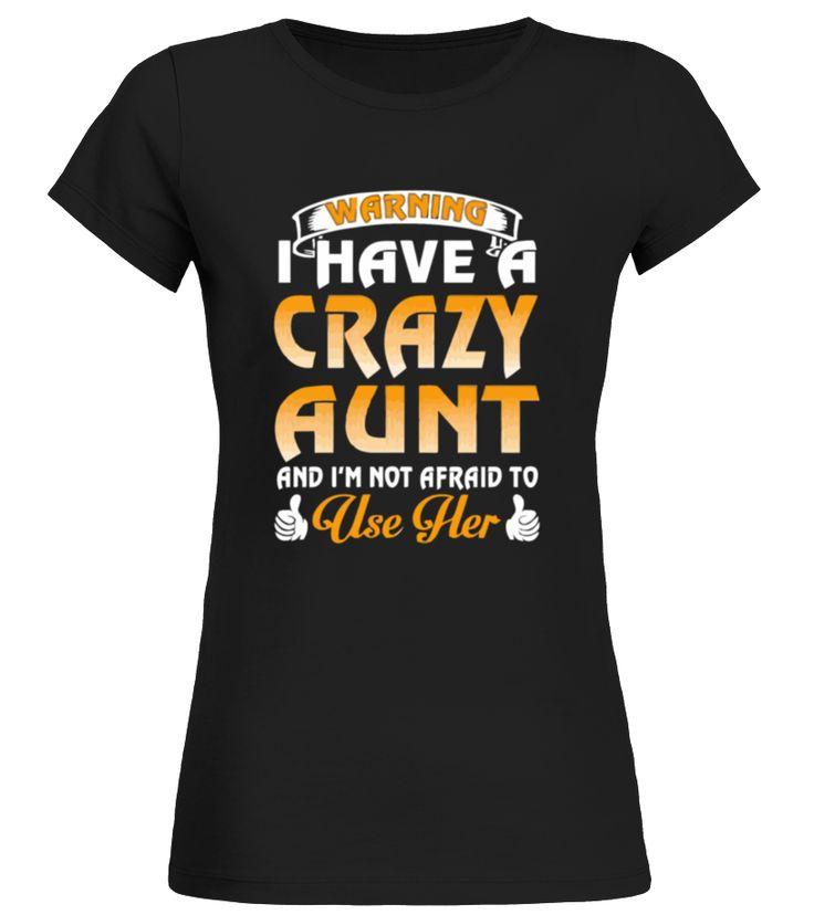 Attention j'ai une chemise de tante folle   T shirt Bébé  #mamagift #oma #photo #image #idea #shirt #tzl #gift #tante