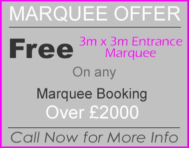 Marquee Hire Price List… The marquees listed on this page are designed for all kinds of marquee events and are a more heavyweight structure suitable for virtually all types of ground. (Additional Fees Apply For Hard Standing Surfaces). All our marquees a German Manufactured frame marquees. They do not require centre poles or guy ropes. …