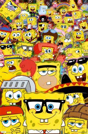 Spongebob - Disguise poster