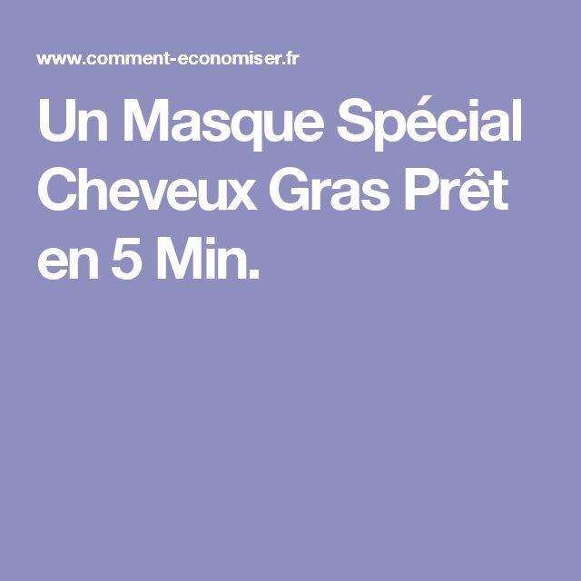 Un Masque Spécial Cheveux Gras Prêt en 5 Min.