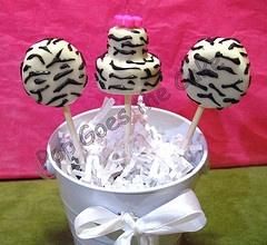 Zebra Cake Pops