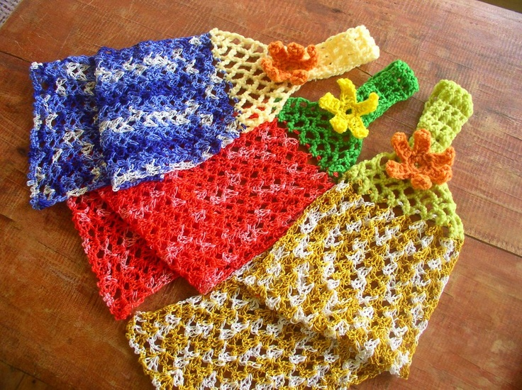 Crochet Patterns Dish Towels : crochet kitchen