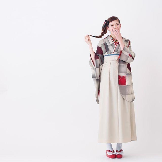 #着物 袴 kimono hakama modern_antenna