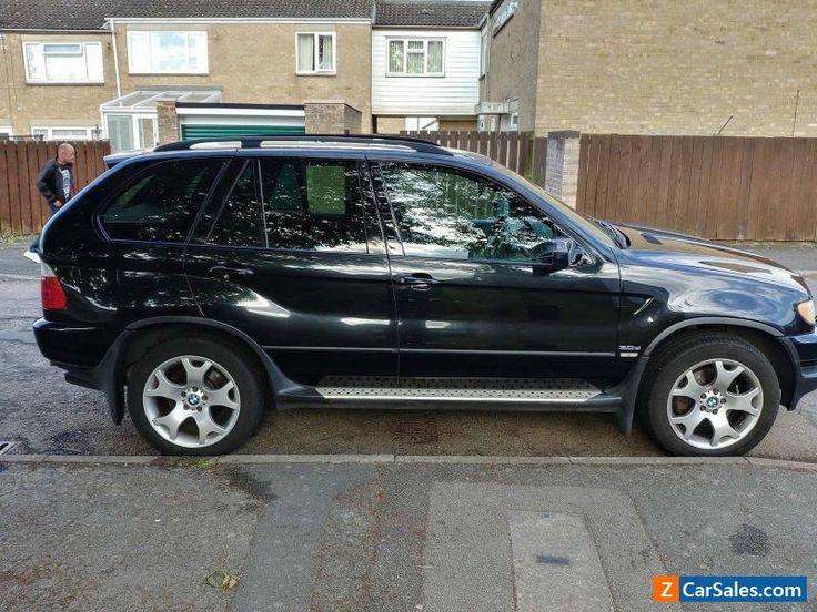 BMW X5 SPORT AUTO DIESEL BLACK 2.9D 2003 #bmw #x5 #forsale #unitedkingdom