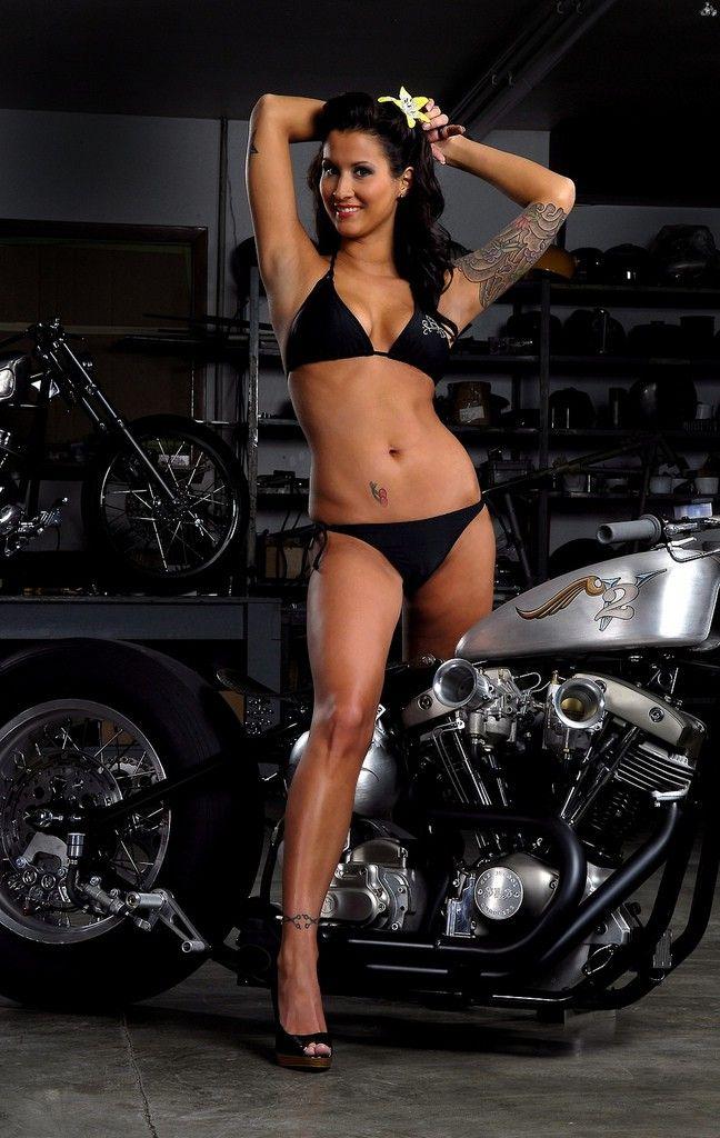 Bikini model photo thong