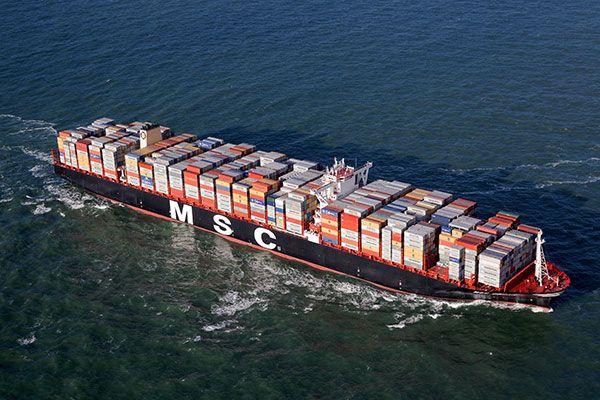 MSC Oscar sails at a service speed of 22.8k. Image: courtesy of MSC. - Image - Ship Technology